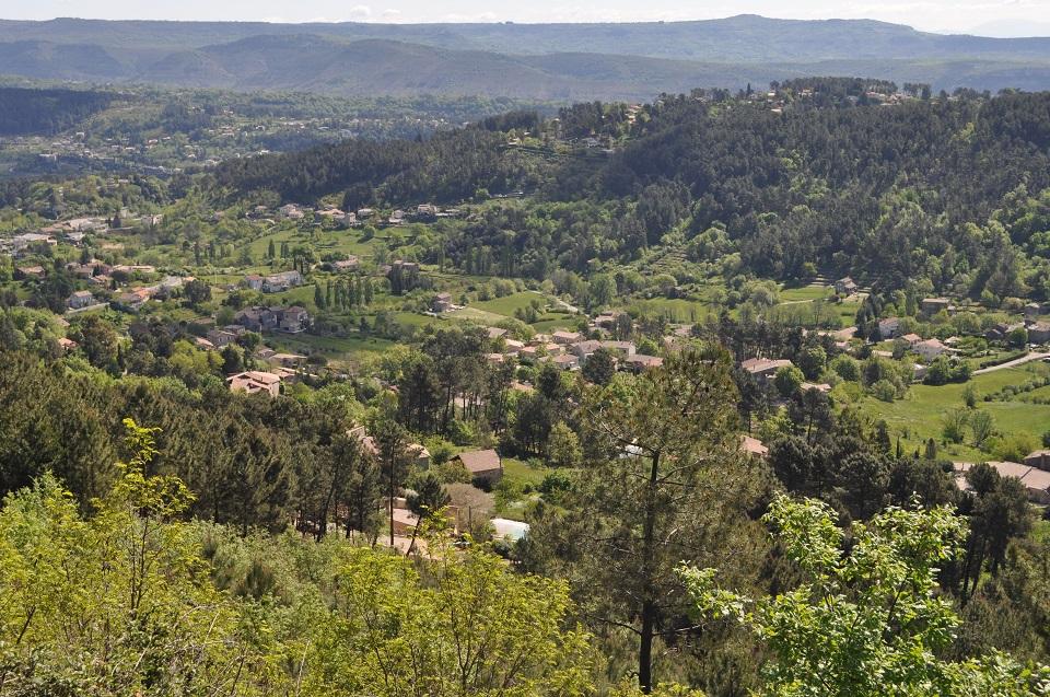Mercuer, en Ardèche.